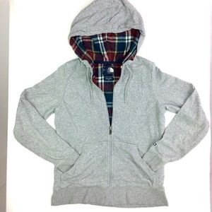 THE NORTH FACE LIGHTWEIGHT ZIP UP HOODIE JACKET